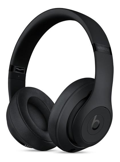 Fones De Ouvido Beats Studio3 Wireless Preto Fosco Lacrado