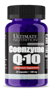 Coenzima Q-10 100mg 30 Capsulas - Ultimate - Importado