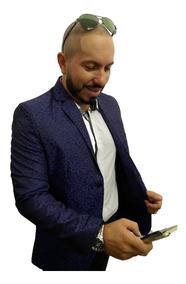 Terno Acetinado Brilhoso Slim Lançamento 2019 Frete Gratis