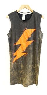Vestido / Remera Mujer Bolt Con Impresión (0085)