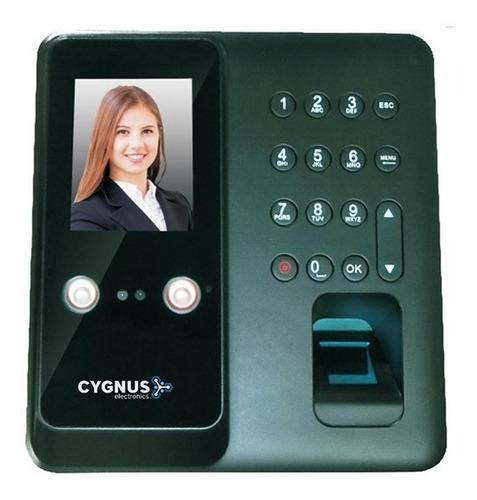 Reloj Control Horario Cygnus Facial Tarjeta Huella Rostro