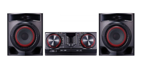 Mini System Lg 440w Cd, Bluetooth, Usb X Boom Cj44 Bivolt