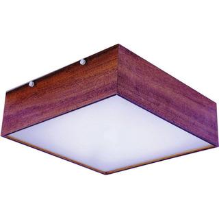 Luminária Plafon Madeira Guaratuba 40cm - 36.27