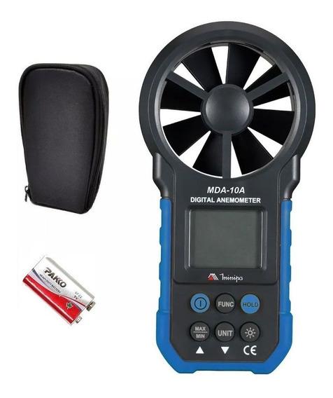 Anemometro Medidor Digital - Mda-10a Minipa