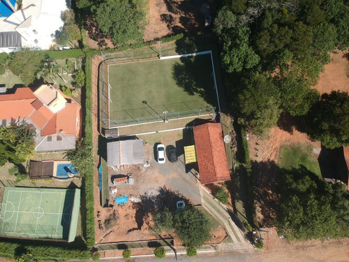 Chácara Ibiúna Condomínio 1.500 Mts Casa E Campo Futebol !!!