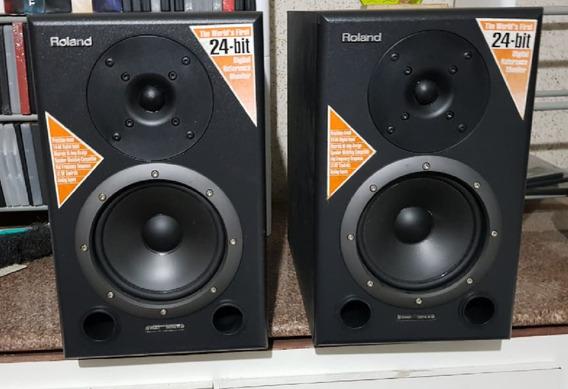 Caixa De Referência Para Studio De Gravação Da Roland-ds-90