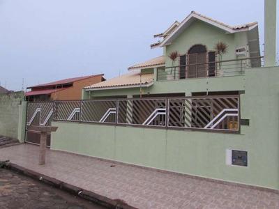 Casa Sobrado, 5 Dorms (3 Suites), Perto Da Praia