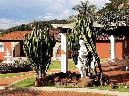 Chácara Com 7 Dormitórios Para Alugar, 10000 M² Por R$ 8.000/mês - Núcleo São Luís - Ribeirão Preto/sp - Ch0102