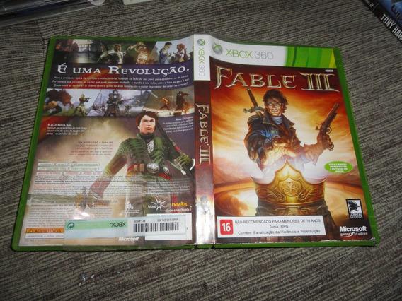 Fable 3 Xbox360 Xbox Midia Original
