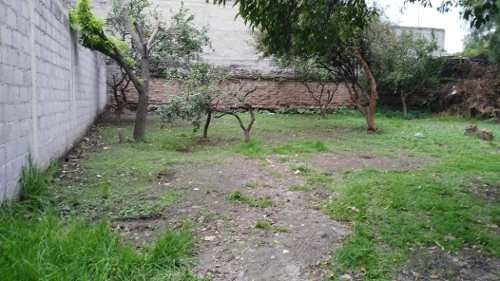 Terreno En Pueblo De Santa María Tepepan