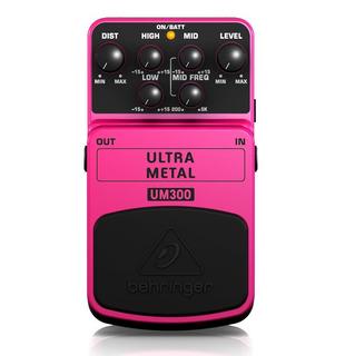Pedal Behringer Um300 Ultra Metal Distorsion Guitarra