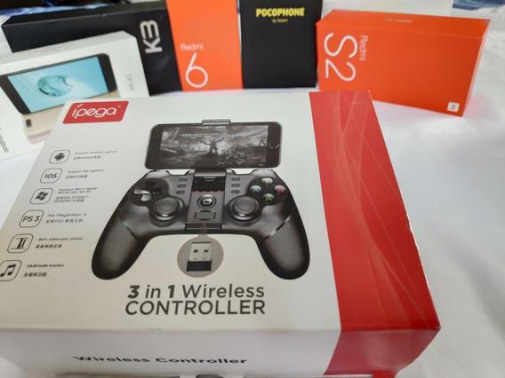 Controle Game Ipega,9076 Android Ps3 Ios Windows 7 Ao 10