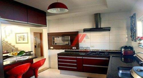 Imagem 1 de 19 de Sobrado Com 4 Suítes À Venda, 219 M² Por R$ 933.000 - Condomínio Jardim Oásis - Taubaté/sp - So0149