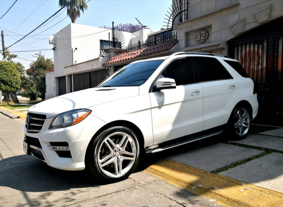 Mercedes Benz Ml 500 Bi-turbo 450hp 2014 Único Dueño Factura