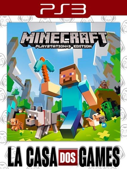 Minecraft: Playstation®3 Edition - Psn Ps3 - Envio Imediato