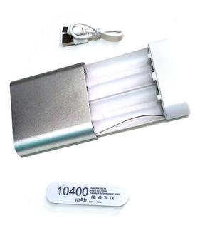 Case Power Bank Usb Para 4 Baterias 18650 - Não Vai Baterias
