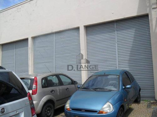 Barracão Comercial Para Locação, Vila Teixeira, Campinas. - Ba0482