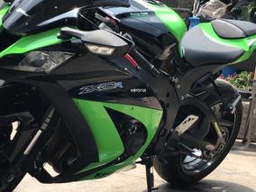 Kawasaki Zx10 R 2015 Verde Y Negro