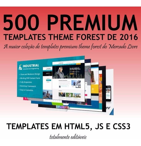 500 Theme Forest Html 5 Premium 2016