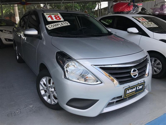 Nissan Versa 1.6 16v Flex Sv 4p Manual 2018