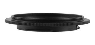Anillo Inversor Montura Ef Eos Canon A Lente 58mm Jjc