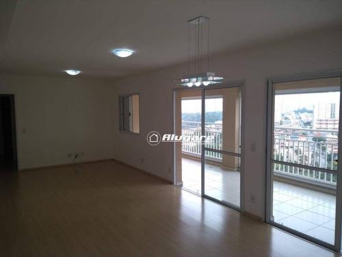 Apartamento Com 3 Dormitórios À Venda, 134 M² Por R$ 1.060.000,00 - Vila Augusta - Guarulhos/sp - Ap2904