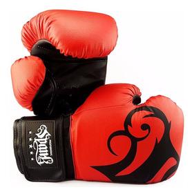 Luva De Boxe E Muaythai Spank Vermelha