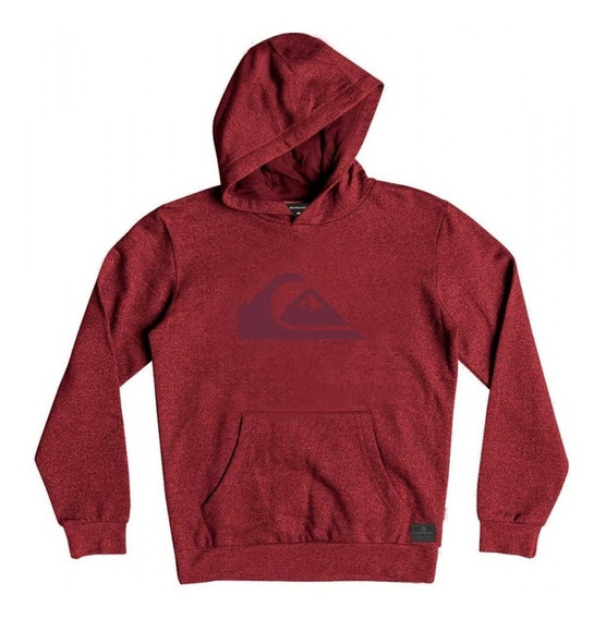 Quiksilver Canguro Hombre Comp Logo Hood (mellow Mauve) Fkr