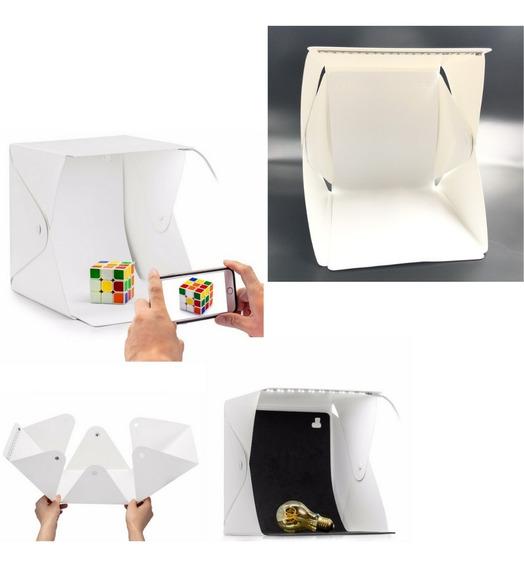 Mini Estúdio Fotográfico Portátil Completo Box Foto