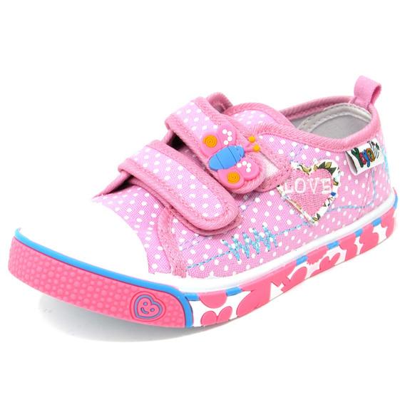 Zapatos Niñas Marca Yoyo L3200 Fucsia 25-30. Envío Gratis