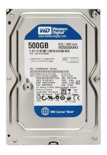 Disco Duro De 500 Gb 3.5 Pc Dvr Sata Western Digital Blue
