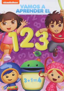 Vamos A Aprender El 1 2 3 Dora La Exploradora Umizoomi Dvd