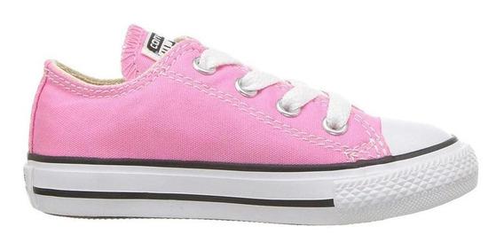 Tenis Converse -choclo- Rosa -bebe-7j238