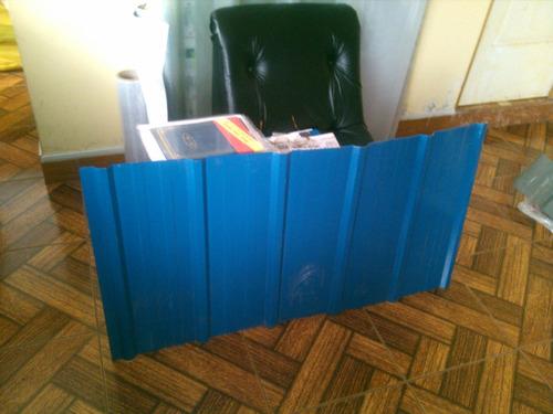 Cobertura De Calamina Aluzinc Azul