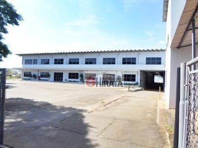 Barracão Comercial Para Locação, Parque Rural Fazenda Santa Cândida, Campinas. - Ba0039
