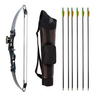 Arco E Flecha Catfish 35 + 6 Flechas Fa28 + Aljava Ac-me