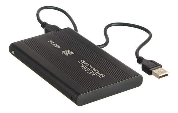 Hd Externo Portátil Slim 500gb Para Pc E Notebook + Cabo Usb