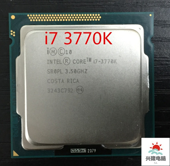 Intel Core I7 3770k 3.5 Ghz + Cooler + Garantia