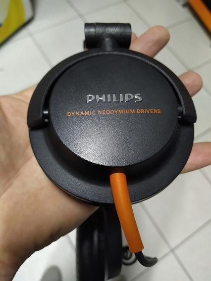Fone De Ouvido Philips Dj Alta Potencia E Qualidade 2200 Mw
