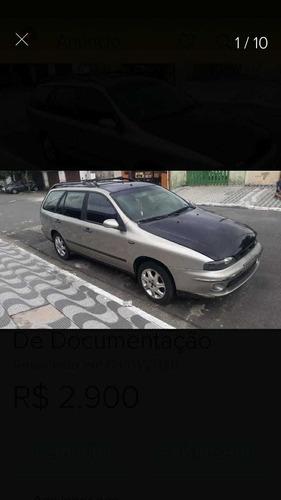 Fiat Marea Weekend Elx 2001 Com Débitos E Reparos Leia