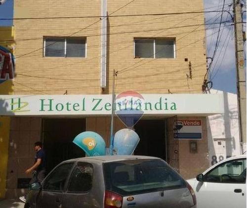 Hotel Zenilândia À Venda, 332 M²- Centro - Mossoró/rn - Ho0002