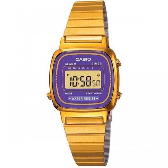 Relógio Casio Vintage La670wga-6df