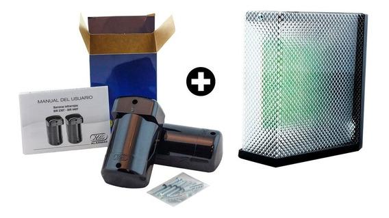 Kit Semaforo Para Garage Led + Barrera Infrarroja Exterior