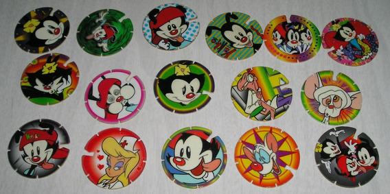 Lote De 16 Tazos Animaniacs Pepsico 1995 Warner Brothers