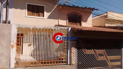 Sobrado Residencial À Venda, Jardim Santa Clara, Guarulhos. - So1633