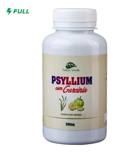 Psyllium + Garcínia Regulador Intestinal 100 Capsulas 500mg
