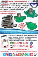 Reparacion De Bombas De Agua Volvo Camion Fe6,fe7,fl6,fl7