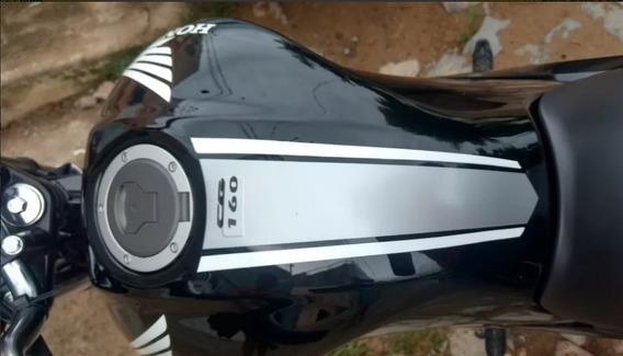 Adesivos Faixa Tanque Honda Cg Titan 160 2019 Frete Grátis