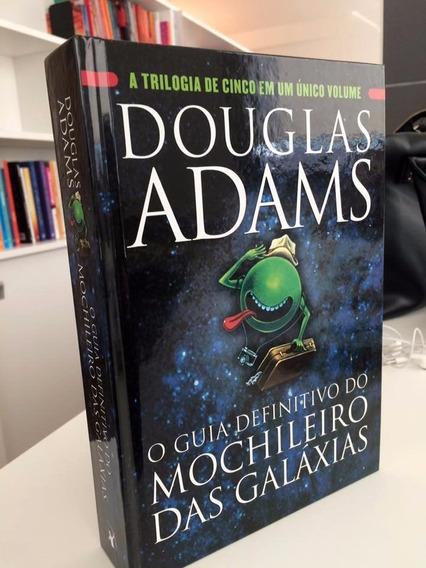 O Guia Definitivo Do Mochileiro Das Galáxias Capa Dura