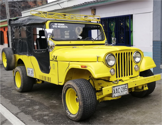 Jeep Cj6 - Motor Disel Con Turbo - Disel - Td 27